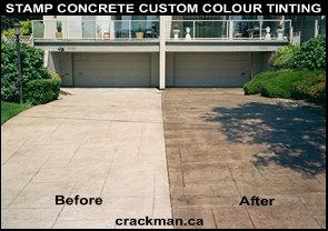 To the custom concrete coulour tinting Photo Gallery...